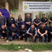 """Operação """"Ordem em Progresso"""" da Polícia Civil apreende 300 pés de maconha armas e drogas em Novo Progresso"""
