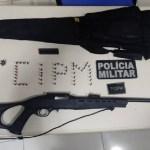Polícia Militar apreende armas de fogo em residência do bairro Juscelandia em Novo Progresso