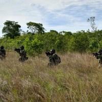 Forças Armadas iniciam fase operacional do Exercício Conjunto Meridiano na Serra do Cachimbo, município de Novo Progresso