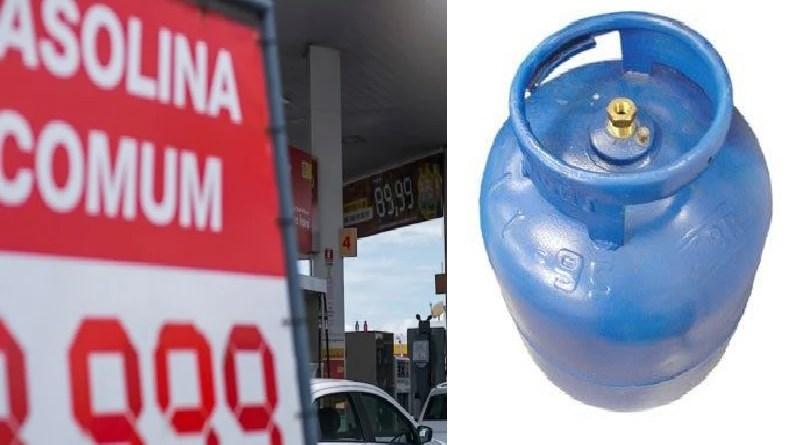 No Brasil, gasolina mais cara passa a custar R$ 7,49 o litro,botijão de gás R$ 130