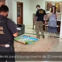 """Operação """"SOS JAMANXIM' da Polícia Federal cumpriu mandados em duas cidades de Santa Catarina"""