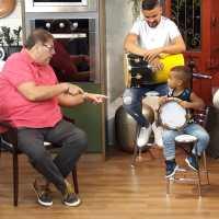 Renanzinho Batuqueiro foi a atração do programa Papo Em Dia