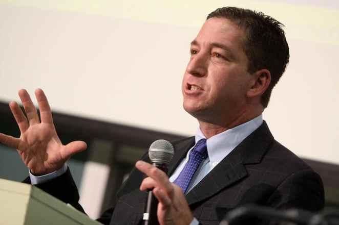 Jornalista Glenn Greenwald sofre perseguições e ameaças por causa das revelações sobre a Lava Jato - Glenn Greenwald. Foto: Gage Skidmore/Flickr