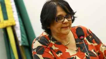 Ilustração - A ministra da Mulher, da Família e dos Direitos Humanos, Damares Alves, participa de audiência pública na Comissão de Seguridade Social e Família da Câmara dos Deputados. Foto: Marcelo Camargo/Agência Brasil