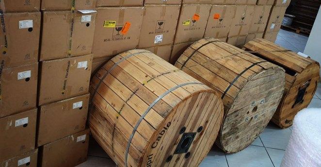 Anatel apreende mais de 58 mil produtos irregulares em operação antipirataria em 11 estados. Foto: Divulgação/Anatel