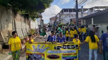 Campanha Setembro Amarelo no Col. Est. Pedro Ribeiro em São Caetano. Foto: Divulgação