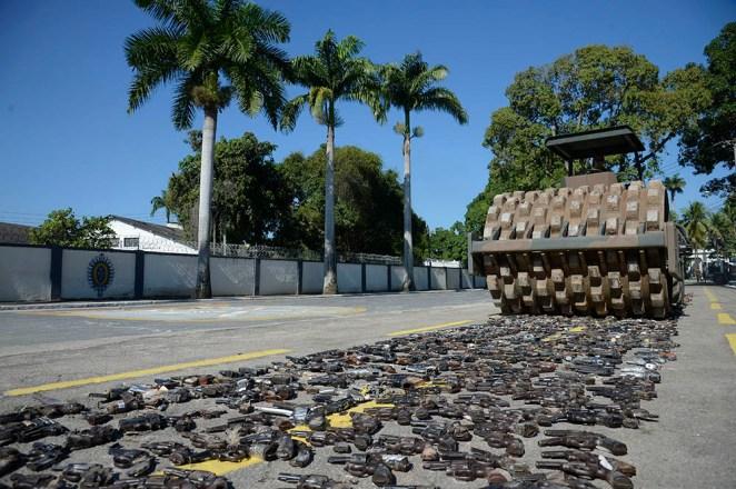 Estatuto do desarmamento contém multiplicação da violência, diz sociólogo. Foto Tânia Rêgo/Agência Brasil