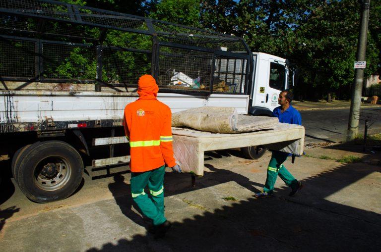 Comurg recolhe 640 objetos durante ação do Cata-treco