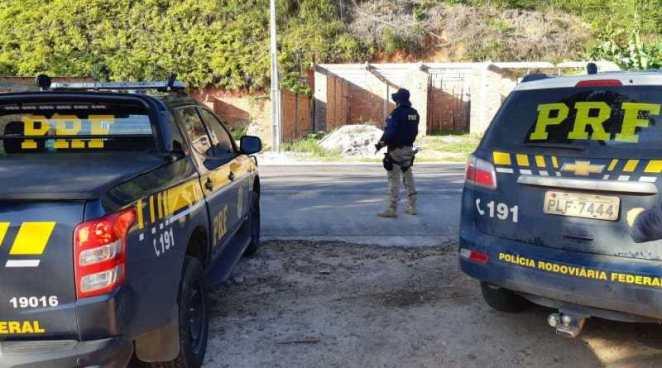 Foragido da Justiça de Goiás é preso pela PRF no sul da Bahia - Foto: Divulgação/PRF