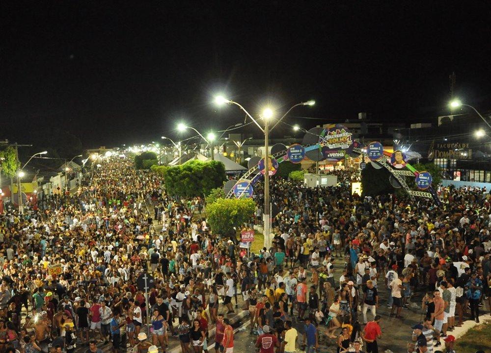 2º dia do Barreiras Folia 2020 registra mais de 90 mil pessoas
