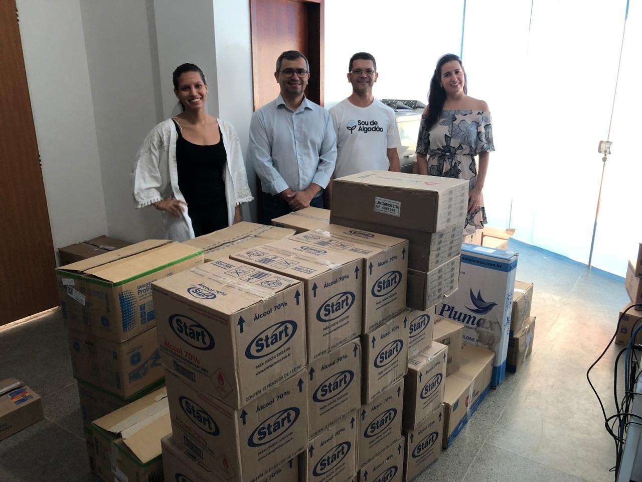 Municípios do Oeste da Bahia recebem doações dos produtores baianos na luta contra o Coronavírus