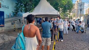 Atendimento de MSF é realizado junto a pessoas em vulnerabilidade social em São Paulo (Foto: MSF)