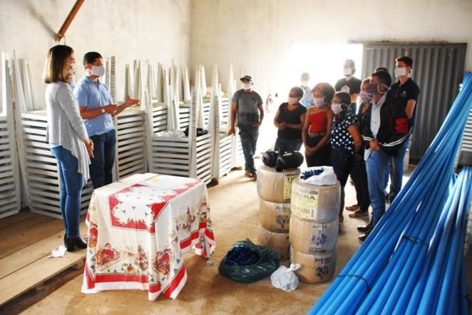 Lindervan Morais destacou que os produtores de algodão têm vários projetos sociais que beneficiam moradores da zona rural e urbana (Imagem: Divulgação)