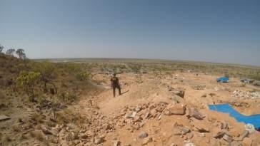 Garimpo ilegal na terra indígena Raposa Serra do Sol (Imagem: PF/Divulgação)