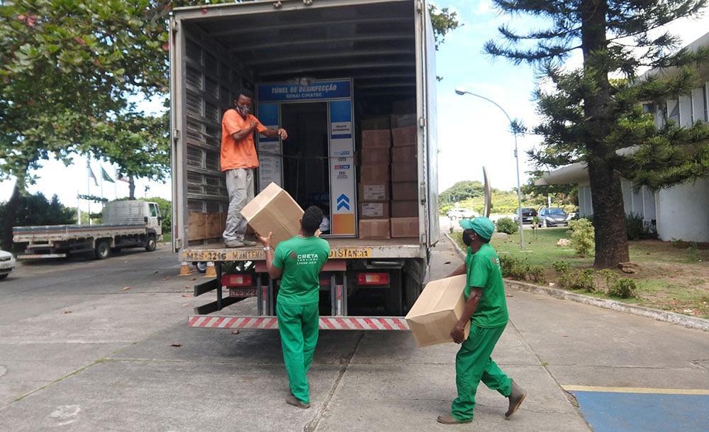 Governo do Estado envia 201 mil máscaras e insumo hospitalar para o interior da Bahia