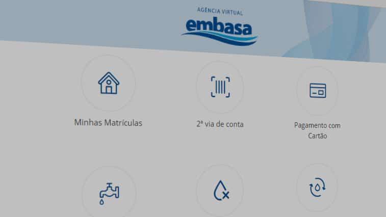 Embasa facilita pagamento da conta de água