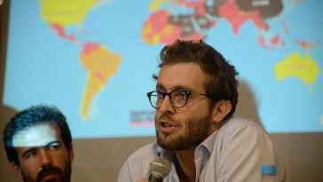 Emmanuel Colombié é diretor do escritório para a América Latina da Repórteres sem Fronteiras (Foto: Tânia Rêgo/Agência Brasil)