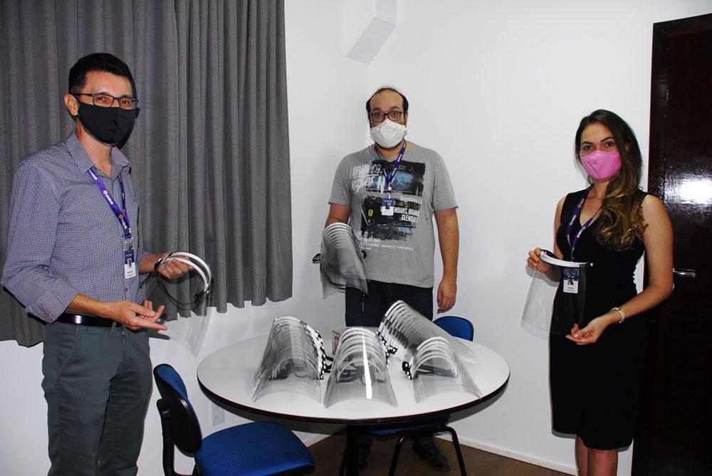 Unifasb produz tecnologia em saúde e doa material de proteção contra Covid-19