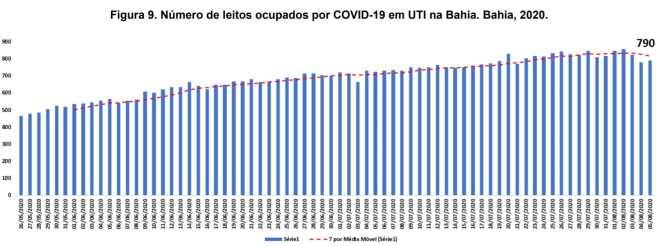 Ocupação UTI (Foto: Divulgação)