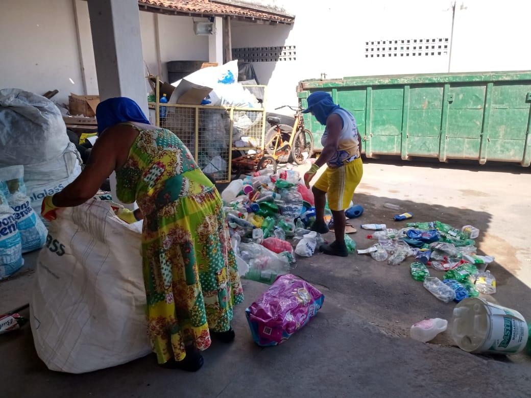 Rede Reciclagem mobiliza população para apoiar criação de cooperativa de reciclagem em Maceió