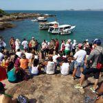 Mutirão nas Três Ilhas retira meia tonelada de lixo