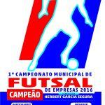Final do Campeonato de Futsal de Empresas acontece neste domingo