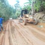 Estradas de Alfredo Chaves recebem melhorias