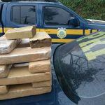 Veículo apreendido com 13kg de maconha tinha destino Guarapari