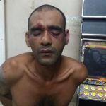 Homem furta de madrugada, bate na mulher, tenta jogar pedra na PM e acaba preso em Guarapari