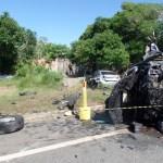 Motociclista morre em acidente no contorno da Rodosol em Guarapari