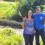 Plantio de árvores e recuperação de nascentes de rios em Anchieta