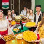 Mais de 100 kg de polenta serão preparados na 12ª Festa da Imigração Italiana em Anchieta