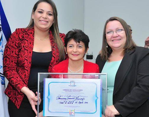 Francisca Maracajá recebe Título de Cidadã Patoense. Confira fotos.