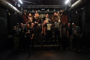 Bandas Venomous Breath, Escarnium, Entrapment e Deathronation no lendário Bahndamm.