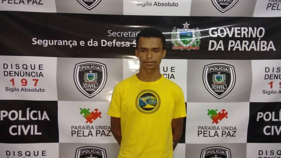 Em Patos, homem é preso acusado de pedofilia contra criança de 9 anos