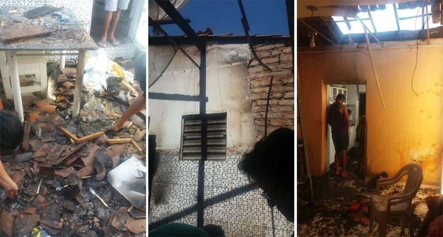 Mundinho de Malta faz uso de fósforo para conferir vazamento de gás e acaba provocando incêndio em sua casa