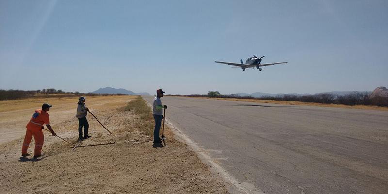 Aeródromo de Patos recebe serviços