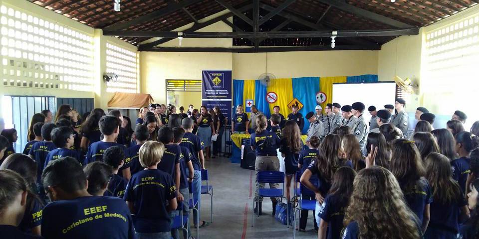 Polícia Rodoviária Federal encerra projeto FETRAN 2016 em Patos