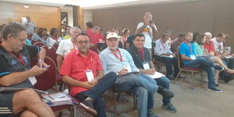 Sindicalista José Gonçalves participa de reunião em Belo Horizonte