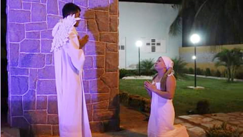 Pastoral da Juventude realiza Auto de Natal na Igreja de São Pedro, no Jatobá