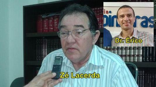 Zé Lacerda fala sobre a possível expulsão de Dr. Érico do PSB