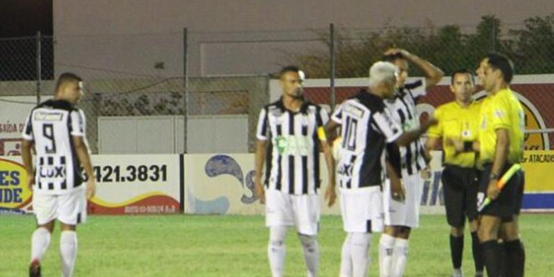 Em jogo amistoso Nacional de Patos perde para o Treze. Marcelinho Paraíba estreou e fez um gol