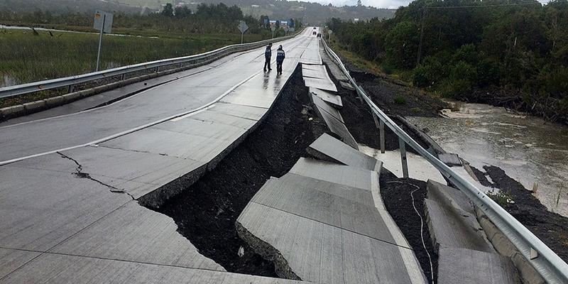 Terremoto de magnitude 7,7 atinge o Chile