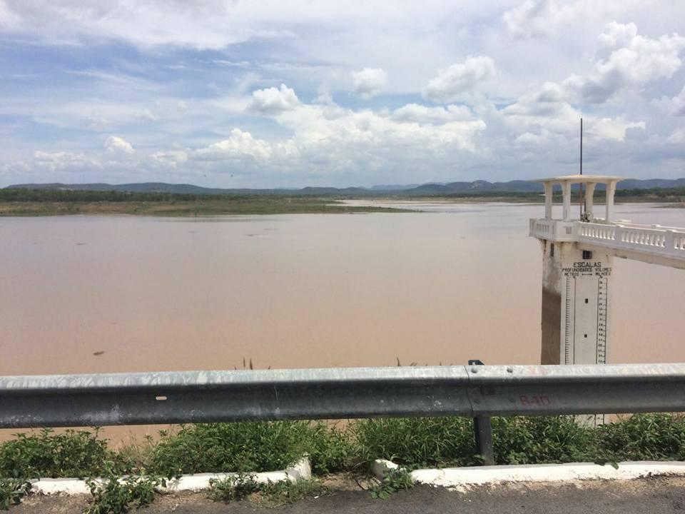 Açude da cidade de Condado já pegou recarga de mais de quatro milhões de metros cúbicos de água