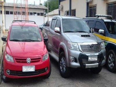 PRF recupera três veículos roubados; dois deles foram apreendidos em Patos