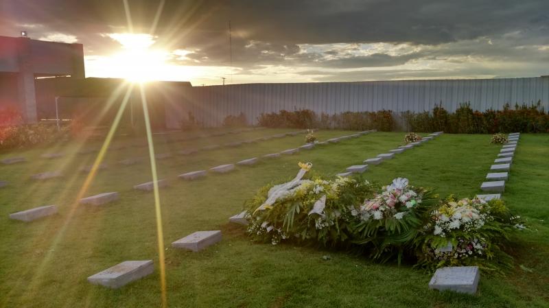Corpo de Sandra Sibele é sepultado e o Sol brilha pela última vez para a guerreira