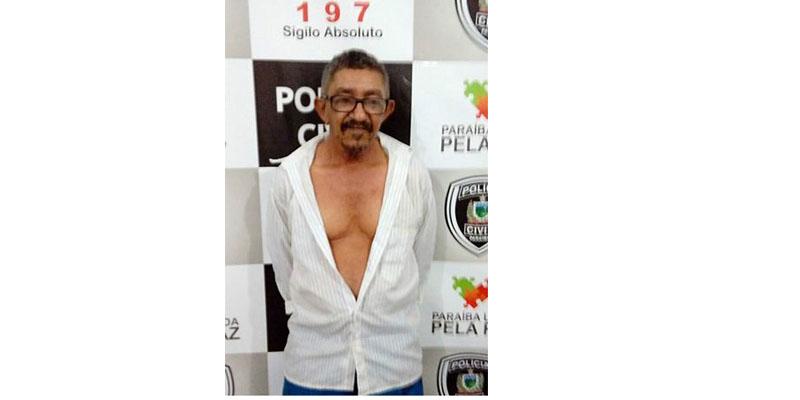 Aposentado é preso suspeito de estuprar neta em São José do Bonfim