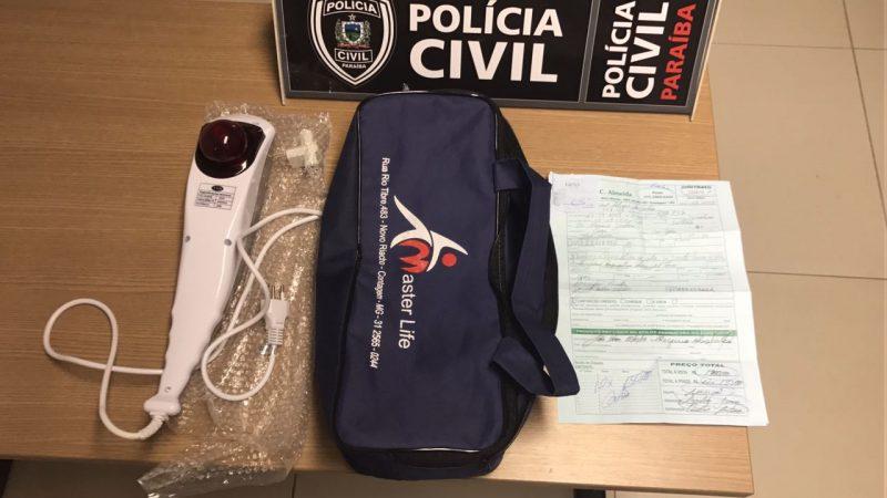 Presos 14 suspeitos de lucrar R$ 100 mil com 'golpe do massageador' em Patos, Cajazeiras e João Pessoa