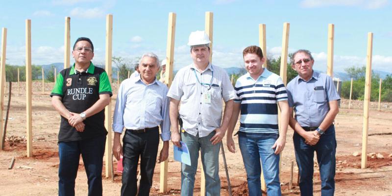 Iniciadas obras para implantação de torre para controle do tráfego aéreo em Patos