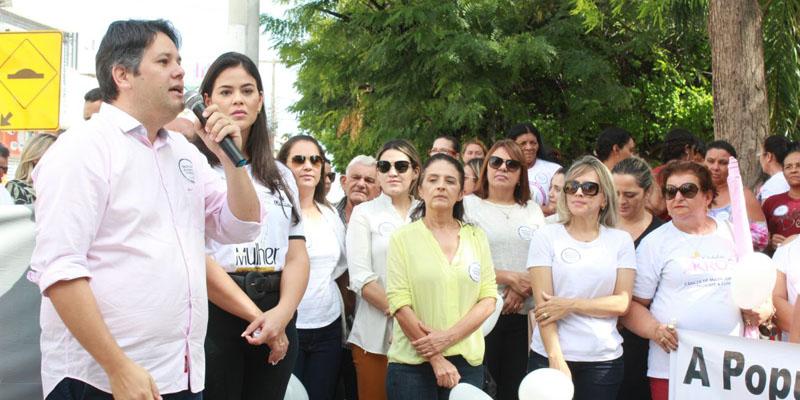 Tradicional caminhada das mulheres marca comemorações do 8 de Março em Patos